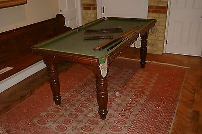 Riley slate bed snooker table 6'x 3'