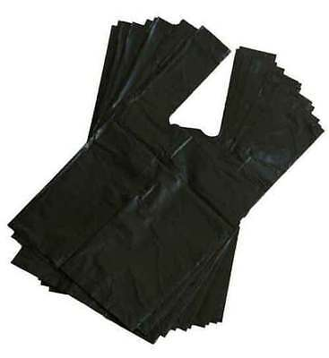 PREMIUM FRAGRANCED EXTRA STRONG BLACK Doggy Poo Poop Bags