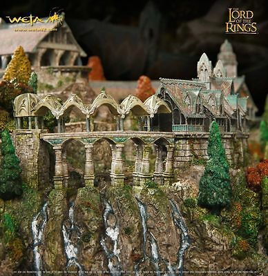 Environment Rivendell/fondcombe -The Lord Of The Rings Lotr - Weta - In Stock