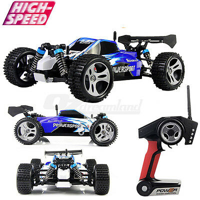 Wltoys 2.4G Radio/Remote Control 1:18 RC Car 4WD High Speed 50km/h Waterproof