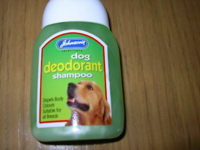Johnsons Deodorant Shampoo 125 ml for all Dog breeds g018
