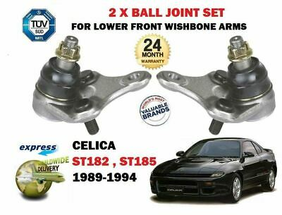For Toyota Celica St182 St185 Gt4 4Ws Gti 1989-  2X Wishbone Arm Ball Joint Set