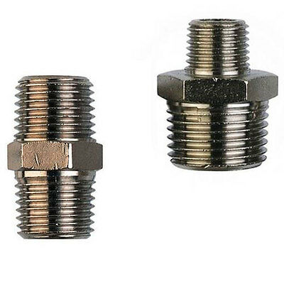 BSPT Male Thread Adaptor Equal / Unequal NP Brass
