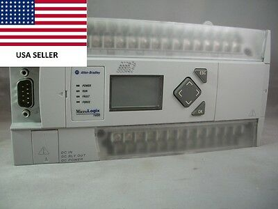 Ships Today Allen Bradley 1766-L32BXB Great Condition Ethernet 24VDC **Tested**