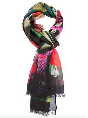 Paul Smith Scarf - The continuing adventures of Mr Brown - Adventure No2/BNWT