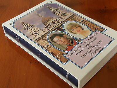 1981 Prince Charles & Princess Diana Wedding Commemorative Bible