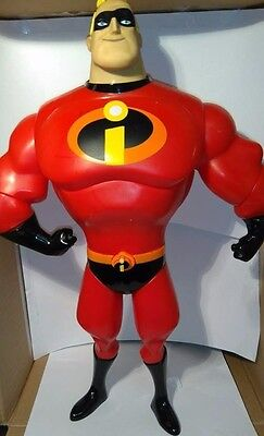 Disney The Incredibles Talking Mr Incredible Action Figure Excellent Condition!!