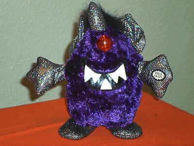 Halloween Purple People Eater Animated Musical Monster - Lights/Sound/Motion