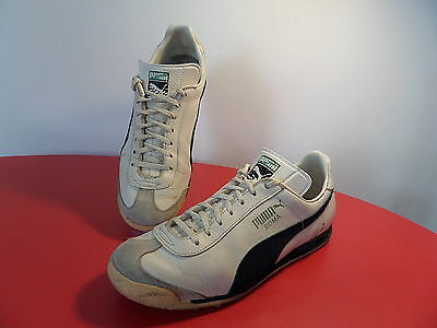 80s PUMA ROMA - Made in W. Germany - sneakers vintage NO retro oldschool Trainer
