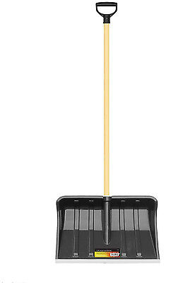 SS102 bLACKSPUR large SNOW SHOVEL Spade/Mucking Out Scoop Metal Blade