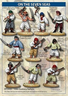 North Star - 18th Century Sailors - 28mm