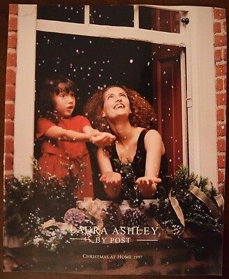 "Rare Vintage ""Laura Ashley By Post - Christmas At Home 1997"" catalogue. Vgc"