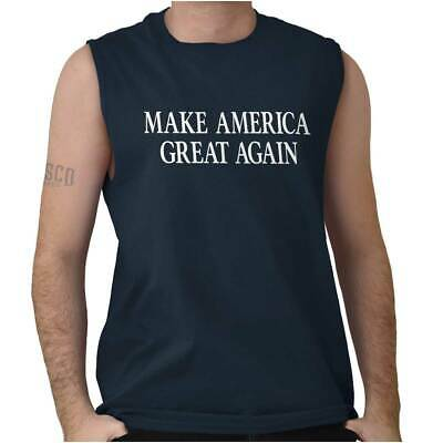 Make America Great President Donald Trump Vote Cool Shirt USA Sleeveless T Shirt