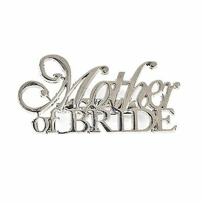 "Mother of the Bride Pin (1 Piece) 2"" Long"