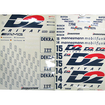 Stickers set MERCEDES AMG D2 FG 1/5 7162