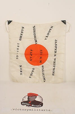 WWII Japanese Remembrance Flag