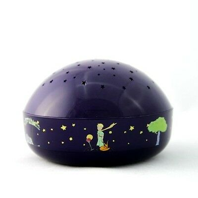 """Le Petit Prince """"Touch Active, Easy Clean"""" Twilight Constellation Galaxy Round"""