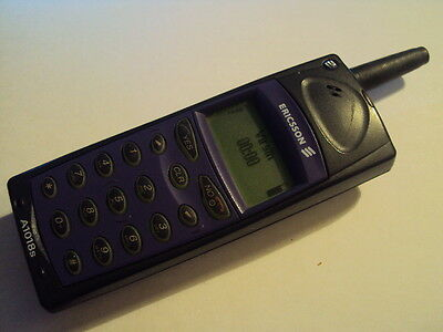 1X Retro  Brick Ericsson A1018S  Mobile Phone On T-Mobile/virgin