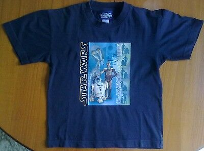 Childs Official Star Wars T-Shirt for Age 6 Years. Euro 116 cm. Excellent Condn.
