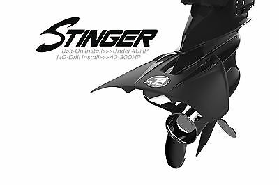 Hydrofoils Stingray Sans Percage Stinger 4 - 300 Cv