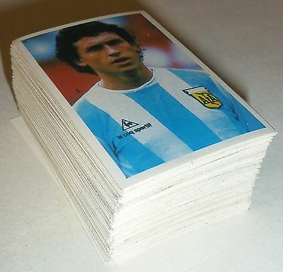Edizioni Lampo Flash Mammoth Fleer World Cup Mexico 86 Stickers - Rare & Superb