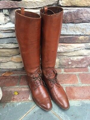 Vintage English Riding Boots Faulkner & Sons London Cambridge