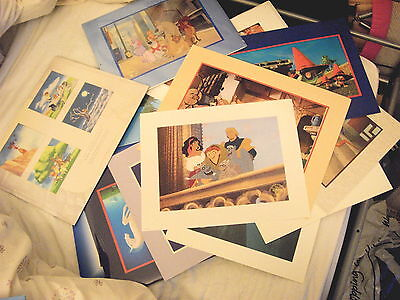 Collection of 24 x Disney Pre-Sale Lithographs