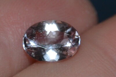"""Beautiful"" 1.47ct.VVS Oval Peach Natural Untreated Morganite Gem"
