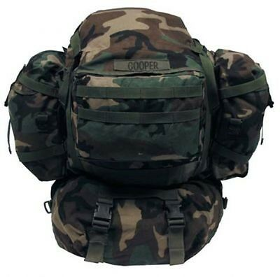 US ARMY MOLLE II RIFELMAN woodland camouflage Rucksack pack