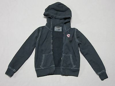 True Religion Boys Black Signature Graphic Sweatshirt Hoodie Medium No Zipper
