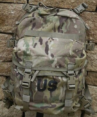 US Army MOLLE II OCP Multicam Rifleman Assault Daypack Backpack Rucksack