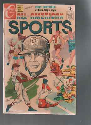 All-American Sports #1 (Oct 1967, Charlton)