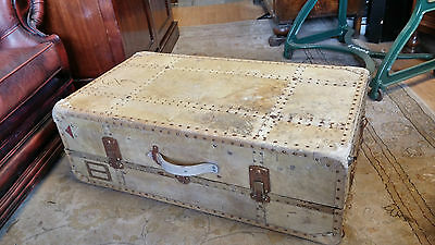 steamer trunk/FRENCH VINTAGE