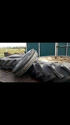 Tractor tyres 13.6 x 38 with rims