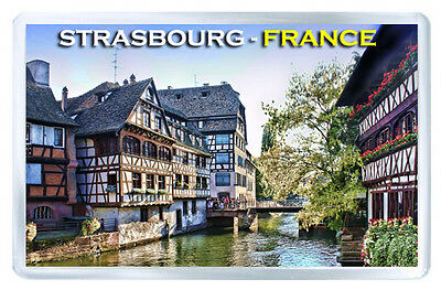Strasbourg France Mod2 Fridge Magnet Souvenir Iman Nevera
