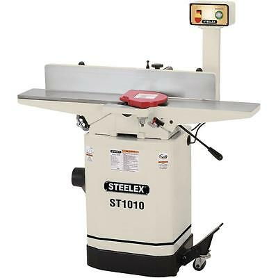 "Steelex ST1010 6"" Jointer w/Mobile Base & Pedestal Switch"