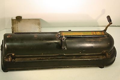 Vintage Protectograph Check Writer 1919 PATENTS - G.W. TODD CO. 883430