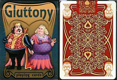 Gluttony Deck Playing Cards Poker Size USPCC Custom Limited Edition New Sealed