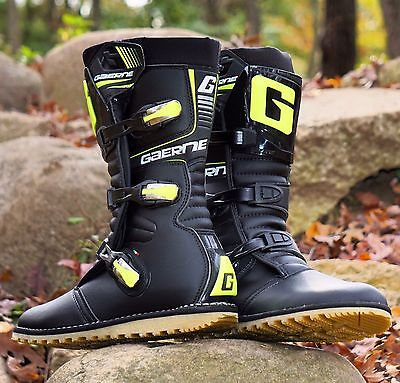 New Gaerne Trials Boots Flo Yellow