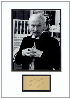 William Hartnell Autograph Signed - Doctor Who - AFTAL  UACC RD