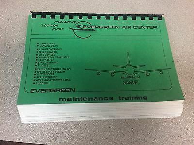 Evergreen International Airlines Boeing 747 Component Locator Guide Manual