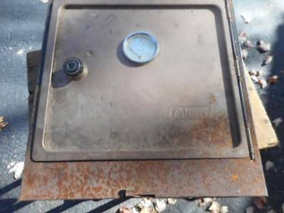 Coleman Camp Oven Complete Shows Some Corrosion Camping Cooking