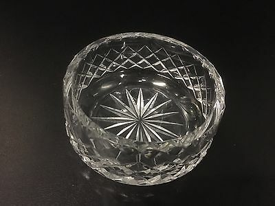 Antique Crystal Set of 6 Sweet Dishes