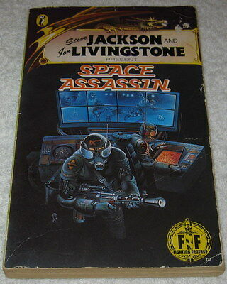 Fighting Fantasy 12 SPACE ASSASSIN  Jackson & Livingstone 1985 Puffin