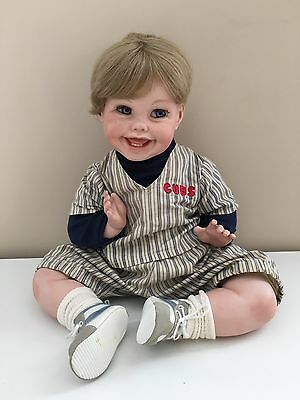 Tippy 1991 Bisque Porcelain Happy Doll Cindy Marschner Rolfe Reproduction Boy
