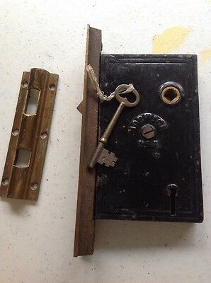 Norwich Door Lock With Key and Lock plate