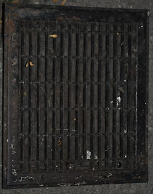 Vintage Floor / Wall Heat Register Metal Vent  Antique Grate