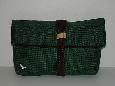 Cathay Pacific Seventy Eight Percent Business Class Airline Amenity Kit GREEN