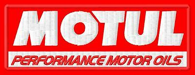 Motul ecusson brodé patche Thermocollant iron-on patch