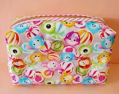 Disney Store Tsum Tsum Candy Cosmetic bag Purse Mike Sulley Pooh Cheshire Japan